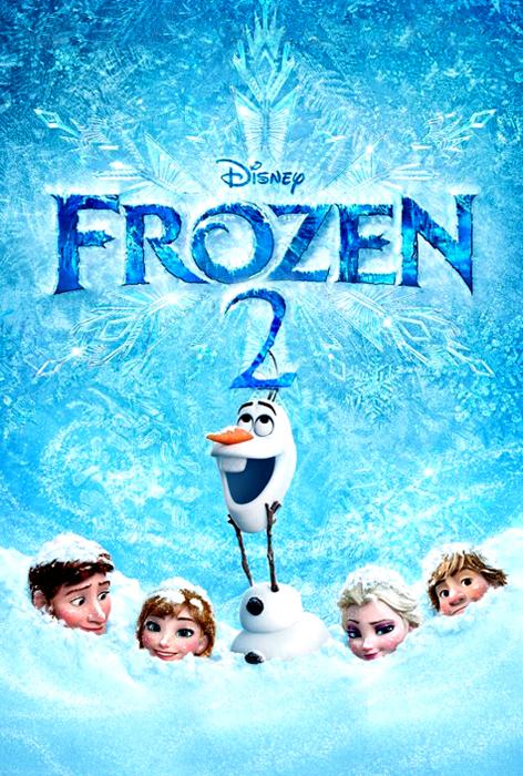 Teser Poster Frozen 2