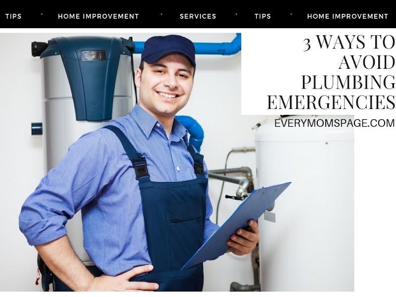 3 Ways to Avoid Plumbing Emergencies