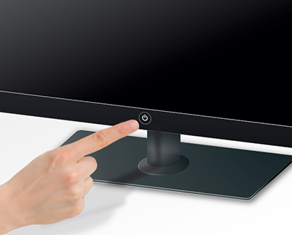 tombol monitor