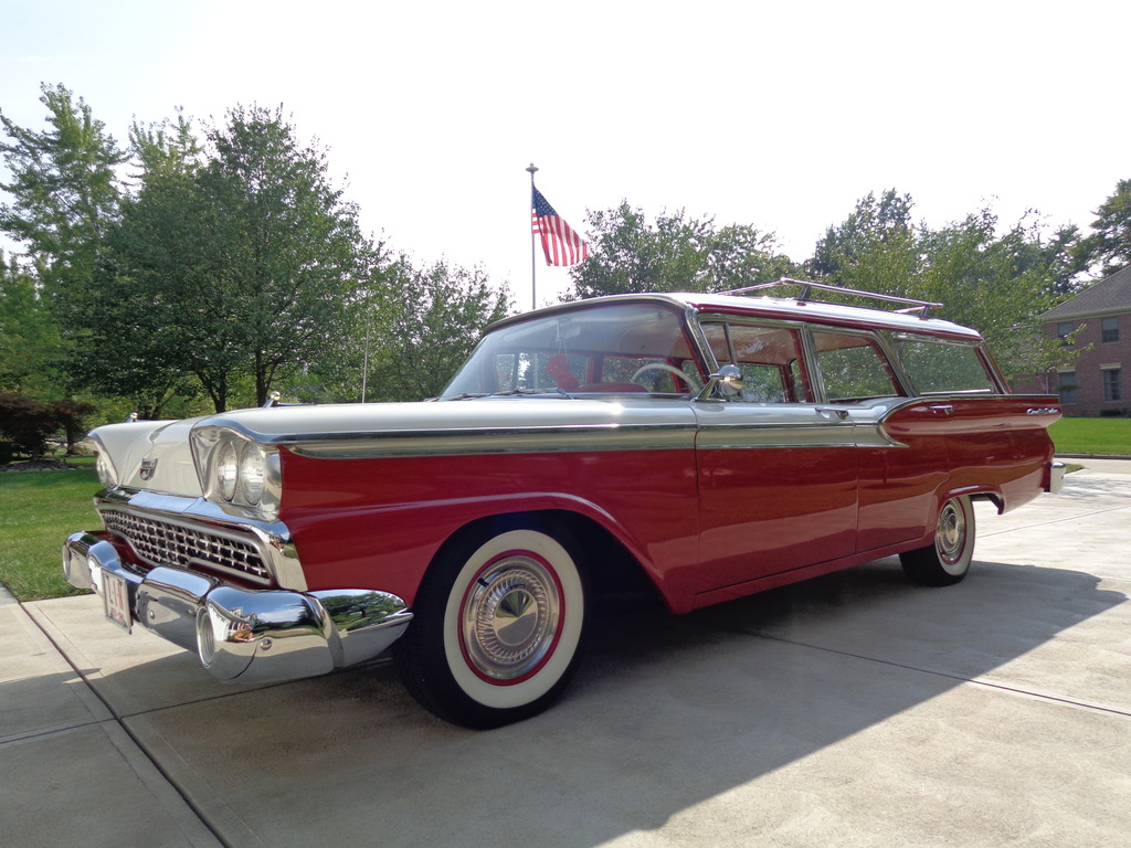 all american classic cars 1959 ford fairlane 4 door. Black Bedroom Furniture Sets. Home Design Ideas