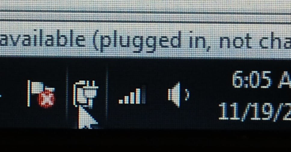 Technical Blog: Pluged in, Not charging      !!! arrggggggg
