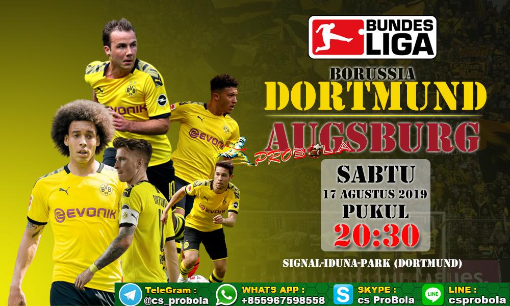 Prediksi Borussia Dortmund vs Augsburg 17 Agustus 2019 ...