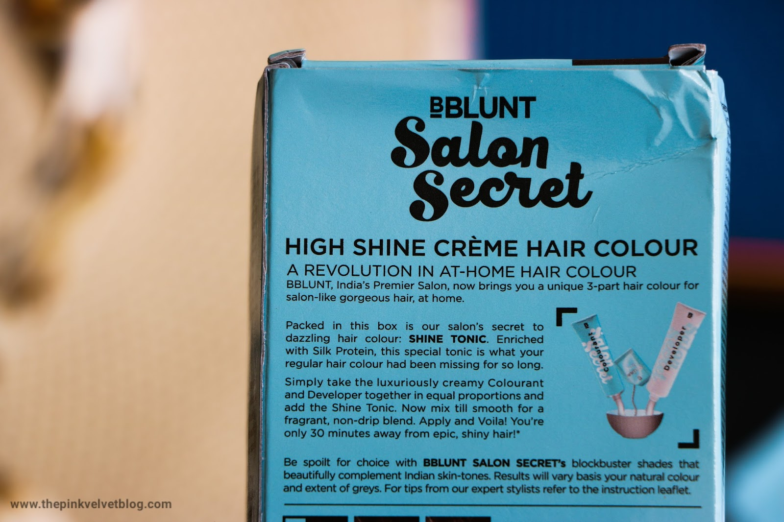BBlunt Hair Color Chocolate Dark Brown
