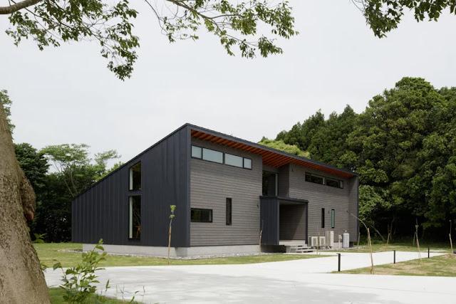 Arsitek Jepang Memanfaatkan Kayu Untuk Membangun Villa Di Jepang
