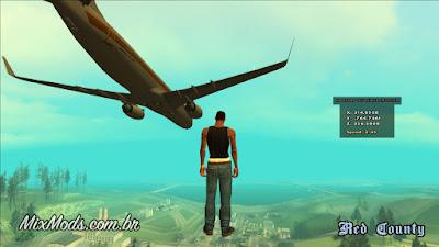 gta sa san mod cleo noclip no clip airbreak free fly voar