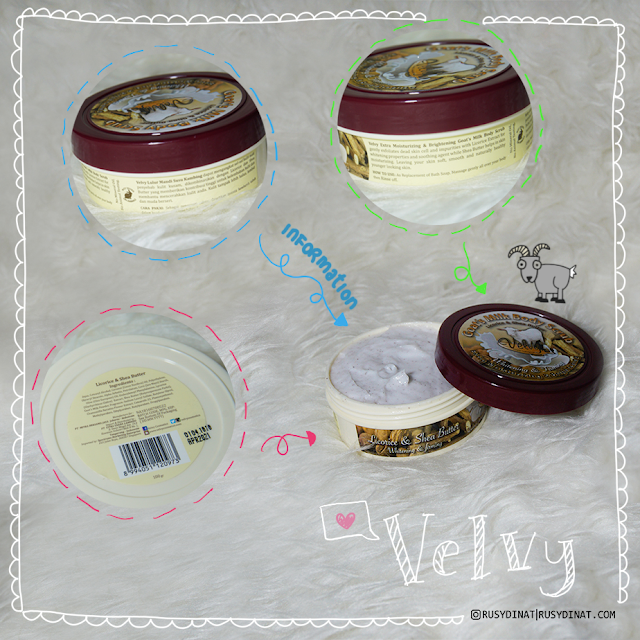 Velvy Goat's Milk Licorice & Shea Butter