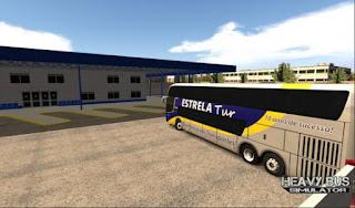 تنزيل لعبة الباص للاندرويد Heavy Bus Simulator