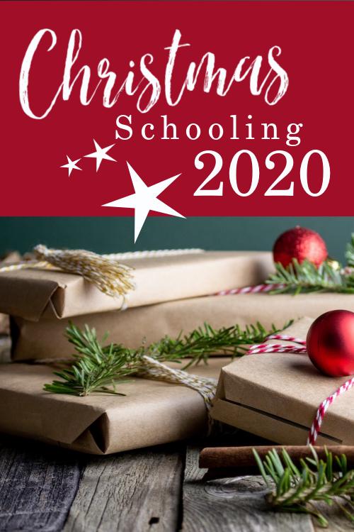 Christmas schooling plans for our homeschool 2020 #homeschool #christmasschool #charlottemasonhomeschool #cmhomeschool