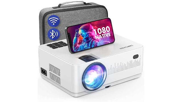 DBPOWER L23 wifi Bluetooth Projector