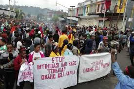 Papuan students Jabodetabek Deklasrasi Peace And Calls Papua is Indonesia