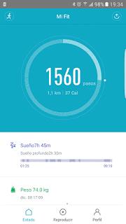 YoAndroideo.com: Xiaomi Mi Band 2. Una buena, bonita y barata pulsera cuantificadora