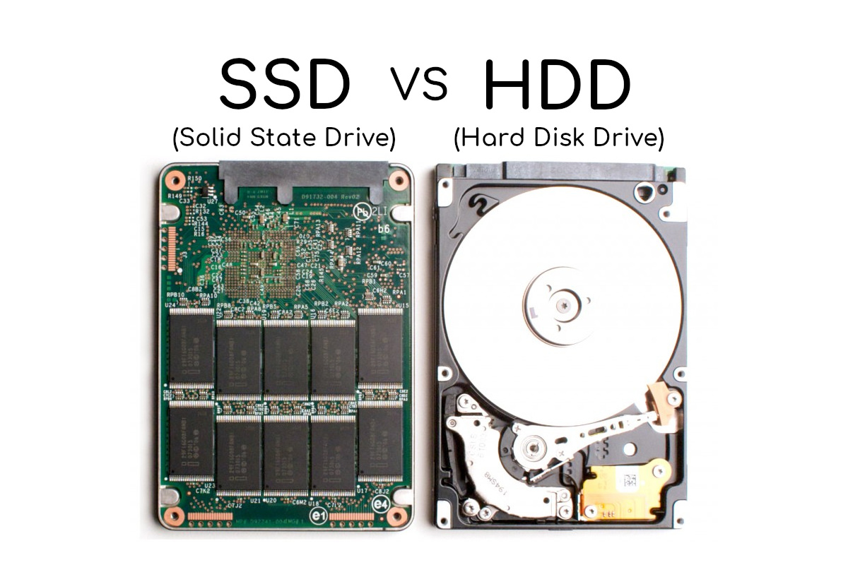SSD dan HDD cepatan mana