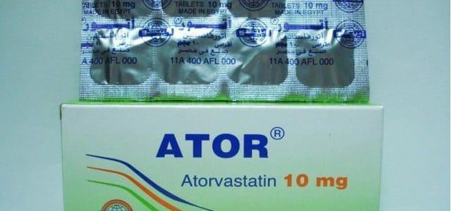 سعر ودواعي استعمال دواء أتور Ator لعلاج زيادة الدهون بالدم