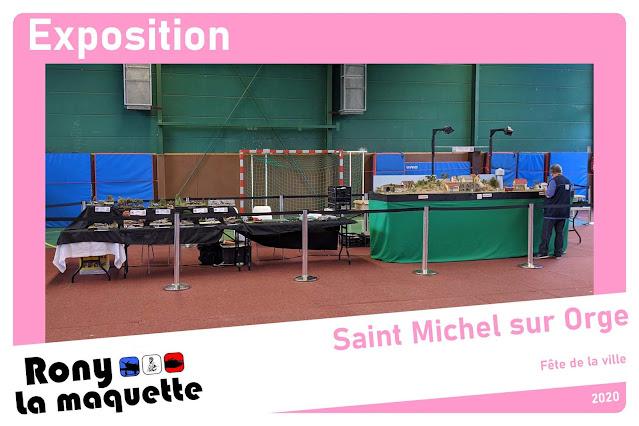 Fête de la ville de Saint Michel sur Orge 2020 avec l'Escadrille Saint Michel.