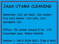 Jasa Cuci Jok Mobil Bekasi, Cikarang, Cibubur, Cibitung, Tambun, Dan Jakarta TERBAIK TERMURAH