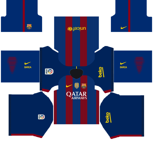 Dream League Socker 2019 Barcelona Logo and Kit Download - Error News