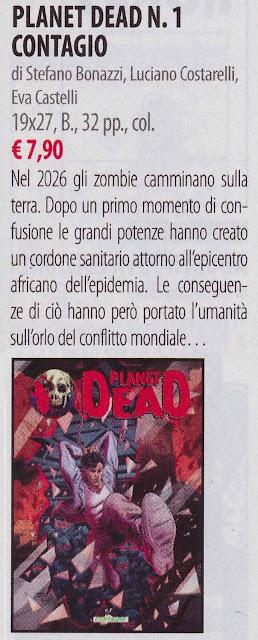 Planet Dead #1: Contagio