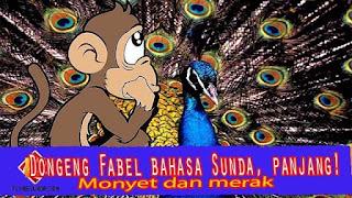 Contoh dongeng fabel tentang sasatoan bahasa sunda, panjang!