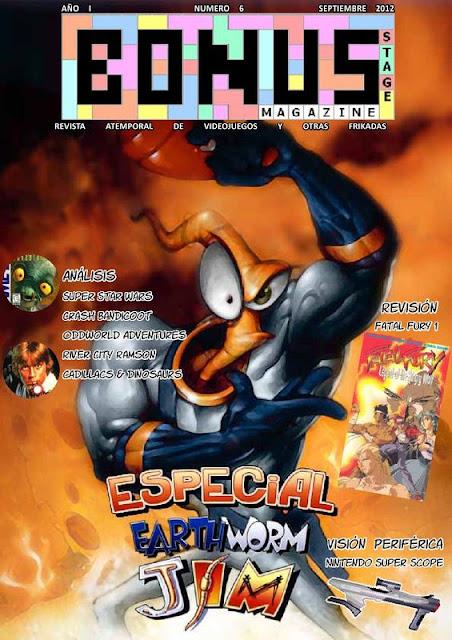 Bonus Stage Magazine #06 Especial Earthworm Jim (06)