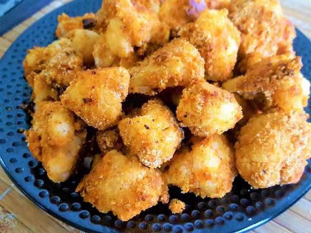 Crispy Fried Cauliflower Wings