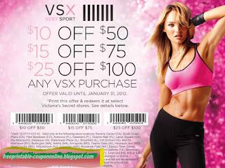 Free Printable Victoria's Secret Coupons