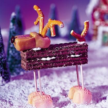 Edible Christmas Decorations: Mm-moose