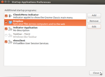 Startup aplikasi ubuntu terbaru