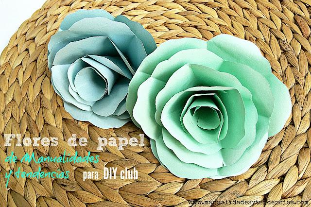 tutorial cómo hacer rosas de papel