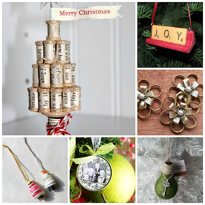 diy upcycled christmas ornament tutorial ornaments