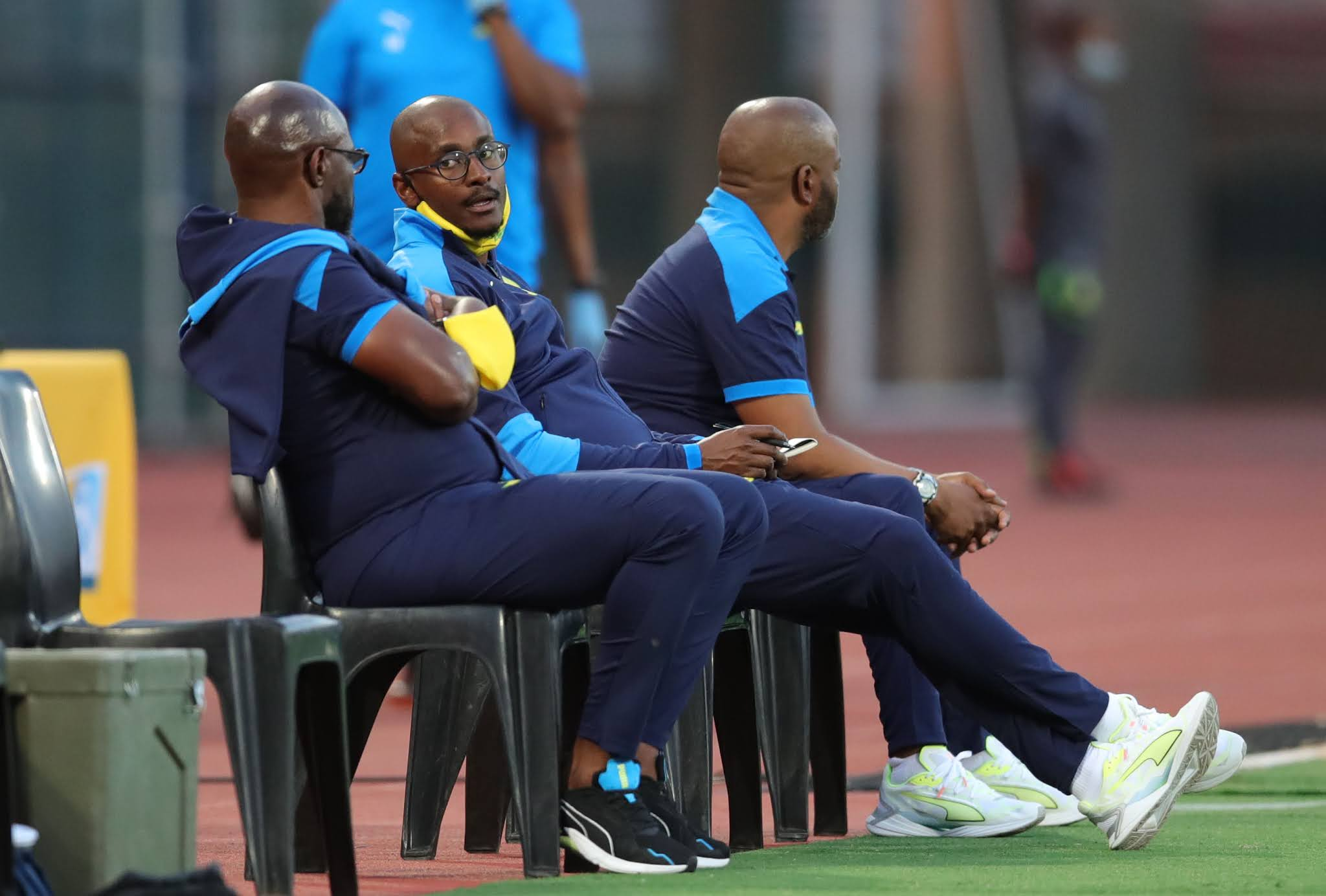 Mamelodi Sundowns coaching team