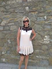 Letnia sukienka z żorżety