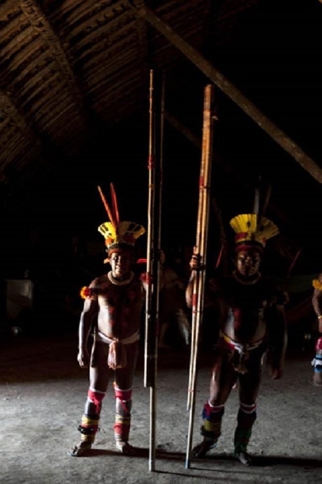 Las flautas sagradas del Alto Xingú