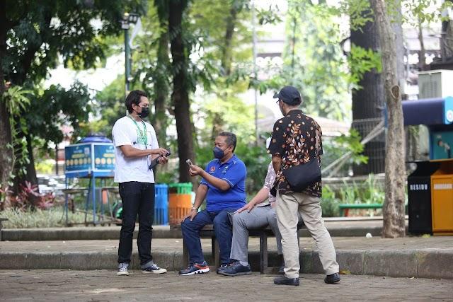 Pemkot Bandung Akan Buka Kembali Taman Kota,  Asal  Kasus Covid-19 Turun Terus