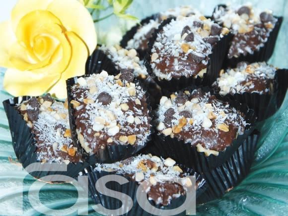 resepi biskut choco kelapa