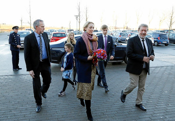Princess Alexandra of Sayn-Wittgenstein-Berleburg attended the gala concert of Køge Culture Fund, with Count Richard and Countess Ingrid