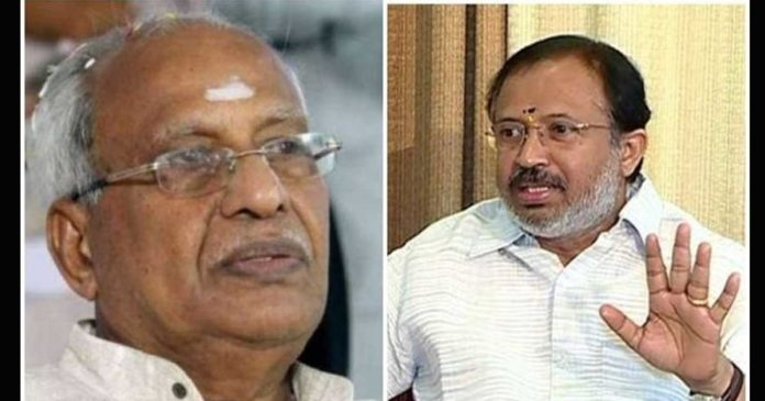 O. Rajagopal said he would settle the dispute with the governor V. Muralidharan with explanation,www.thekeralatimes.com