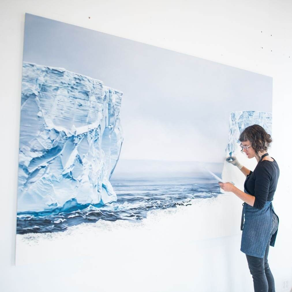 06-Icy-drawings-Zaria-Forman-Ice-Snow-and-Water-Pastel-Drawings-www-designstack-co