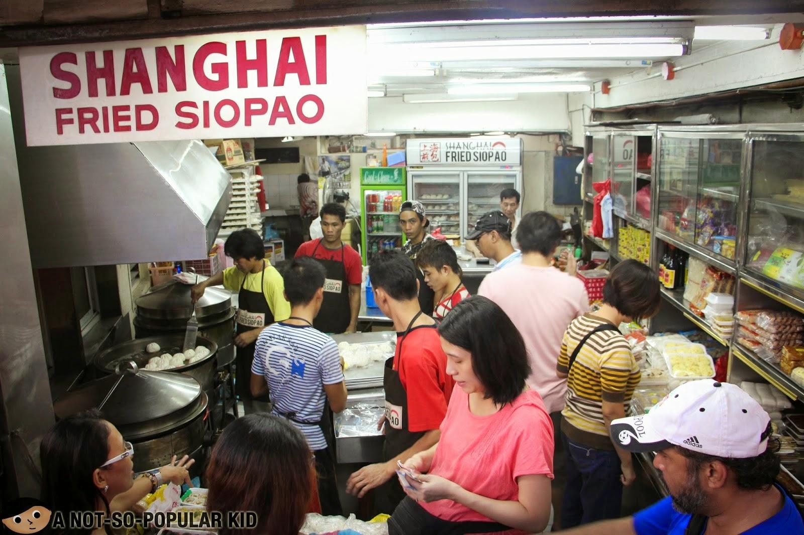shanghai fried siopao binondo manila