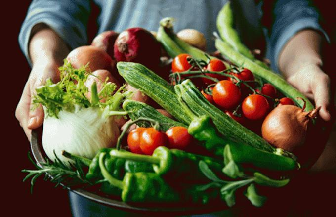 Muhteşem yeşil sebzeler sağlık veriyor