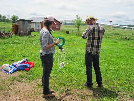 Flying Kites and Photographing Mines with Public Lab