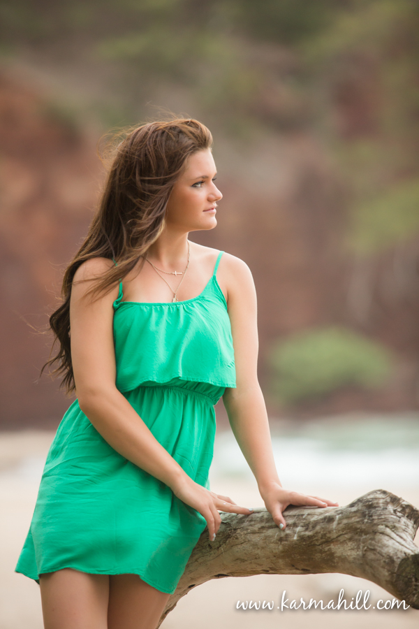 Senior Portraits in Maui, Hawaii