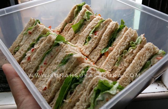 Sandwich Tuna Mayo