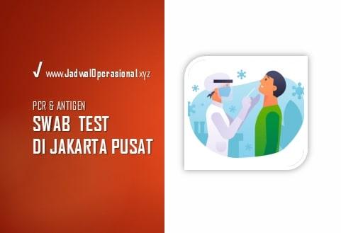 Swab Test di Jakarta Pusat