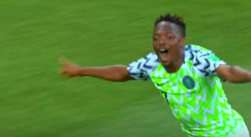 النصر السعودى يعلن تعاقده مع النيجيرى أحمد موسى