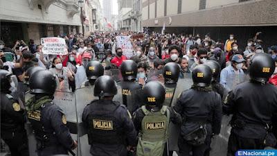 Ejecutivo anuncia reforma en la Policía Nacional, tras violencia en protestas