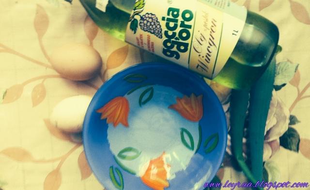 Domowa maseczka do włosów - jajko, aloes, olej z pestek winogron