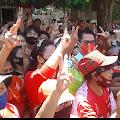 Resmikan Posko Tim Pemenangan JG-KWL, Ganda Di Hadiahi Cendramata