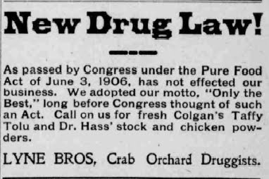 Pure Food and Drug Act (1906)