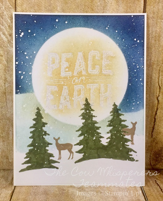 Card, Carols of Christmas, Card Front Builder Thinlits Dies, Retiring