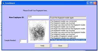FingerPrint: U are U DigitalPersona VB6